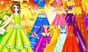 Original game title: Garden Gown Dress Up
