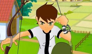 Original game title: Ben 10 Bow and Arrow Shooting