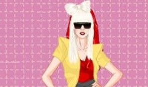 Original game title: Lady Gaga Dress-up