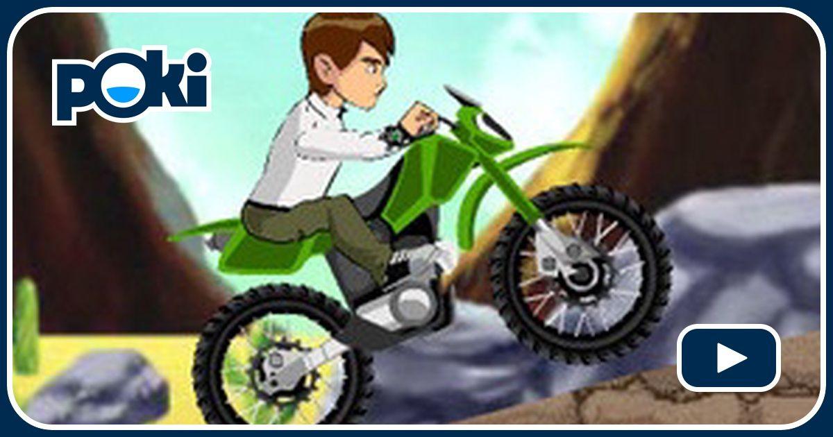 ben 10 bike mission speel ben 10 bike mission gratis op