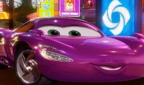 Pink Race Car HN