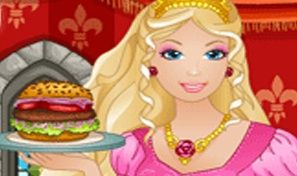 Original game title: Barbie Burger Restaurant