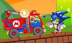 Mario Zombie Truck Shot