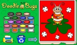 Original game title: Doodle Bugs Coloring