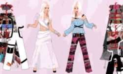 Britney & Christina Dress Up