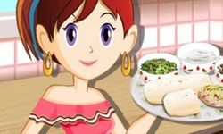 La Clase de Cocina de Sara: Burritos