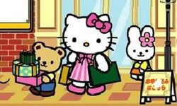 Ghép Hình Hello Kitty Shopping
