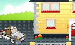 Dom zo Stavebnice Lego
