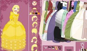 Princess Doll Dress Up