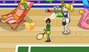 Original game title: Twisted Tennis