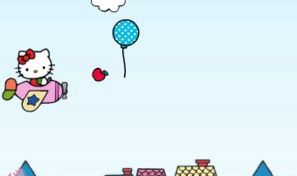 Original game title: Fly Hello Kitty Fly