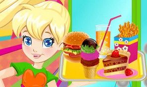 Original game title: Pollys Burger Cafe