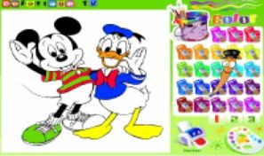 Original game title: Disney Coloring