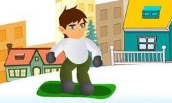 Ben 10 Snowboard