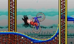 Original game title: Goku Roller Coaster