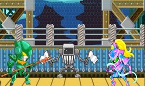Original game title: Robo Duel Fight: Final