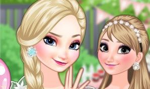 Frozen Sisters Birthday Party