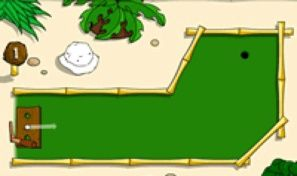 Original game title: Island Mini Golf