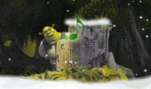 Shrek and Fiona