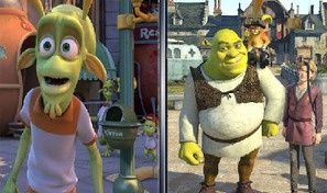 Shrek Forever After: Similarities