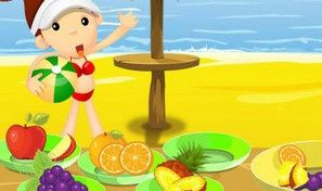 Original game title: Beach Fruity Snack