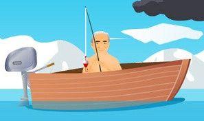 Old Man Fishing Style