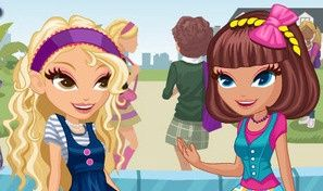 Cute School Girls