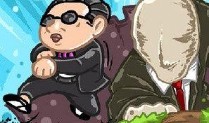 Original game title: Oppa Gangnam Run