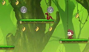Jumping Bananas