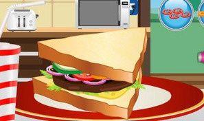 Club Sandwich Decoration