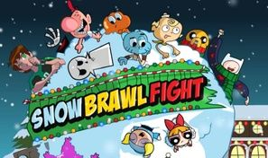 Snow Brawl Fight