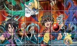 Bakugan Jigsaw Puzzle