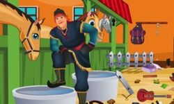 Frozen Kristoff Stable Cleaning