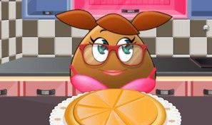 Pou Girl Pizza
