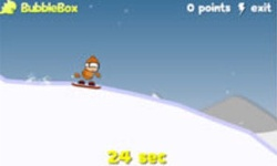 Snowboarding Extreme Heli