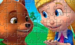 Goldie and Bear Puzzle
