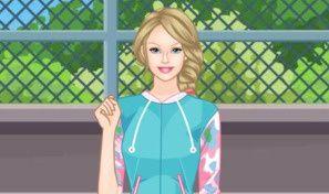 Sporty Barbie Dress-Up