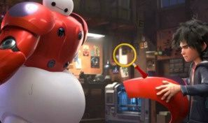 Big Hero 6 Hidden Letters