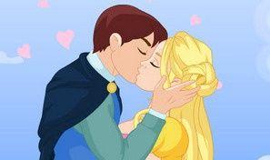 Cinderella Kissing Prince
