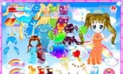 Shiney Princess Dress Up 5