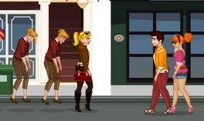 Flirting in the Street