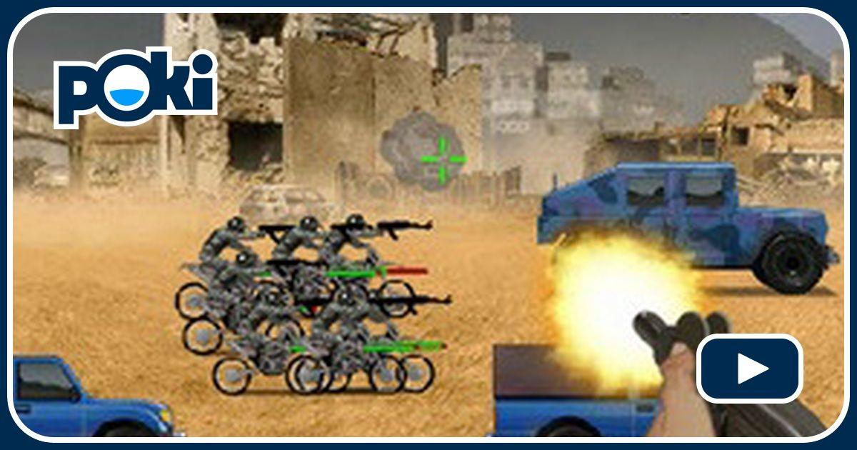 Warzone Getaway Game - Shooting Games - GamesFreak
