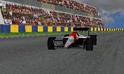 Piloto de Fórmula en 3D