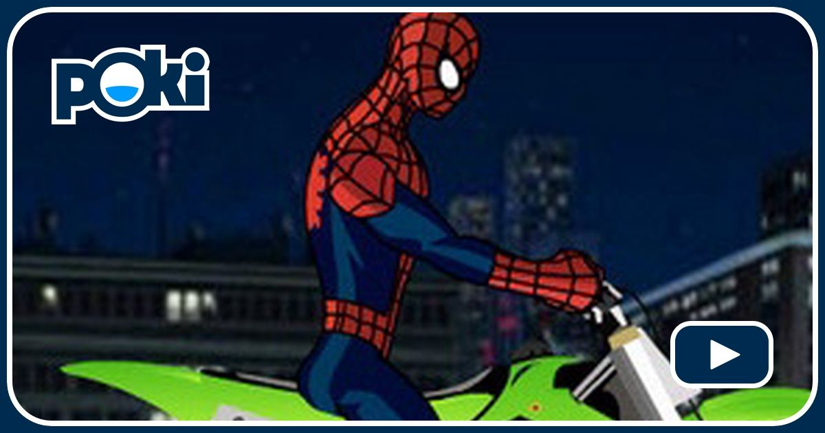 Spiderman d fi en moto joue gratuitement sur - Moto spiderman jeux ...
