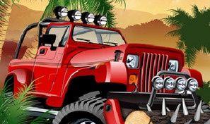 Original game title: Jungle War Driving