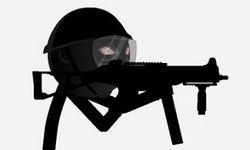 SWAT Manusia Tongkat