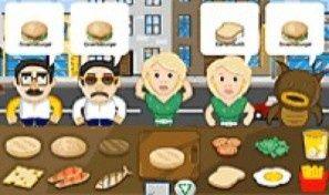 Original game title: Burger Jam