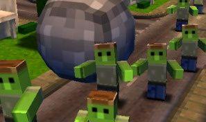 Original game title: Rock vs. Zombies