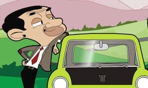 Original game title: Mr. Bean's Car Drive