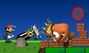 Original game title: AngryMario VS Goomba